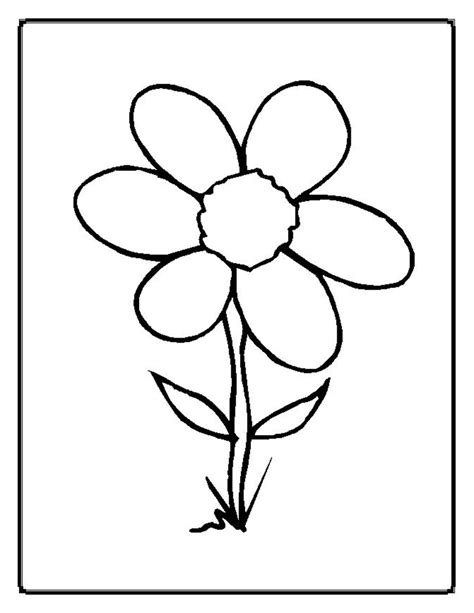Coloring Page Flowers by Coloring Now 187 Archive 187 Flower Coloring Pages 2