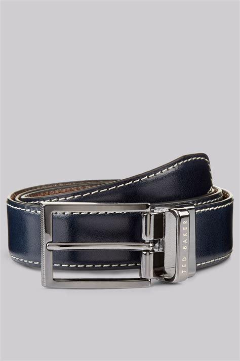 Ted Baker Belt Reversible ted baker navy reversible belt