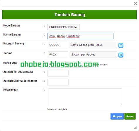 tutorial membuat webgis dengan php phpbejo membuat script fungsi autonumber dengan php