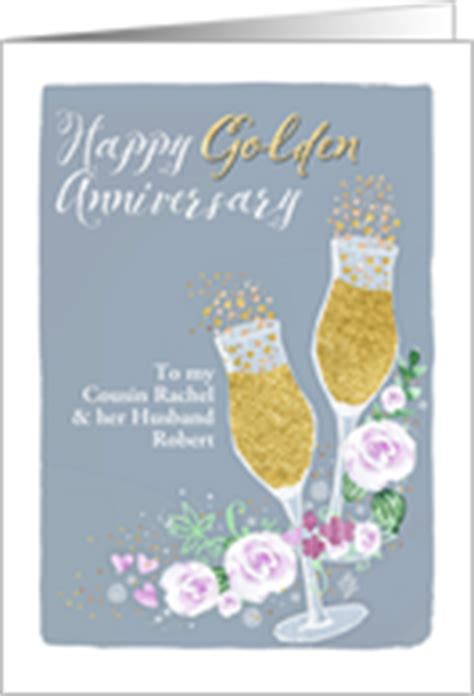Wedding Anniversary Wishes Cousin by Year Specific Wedding Anniversary Cards For Cousin