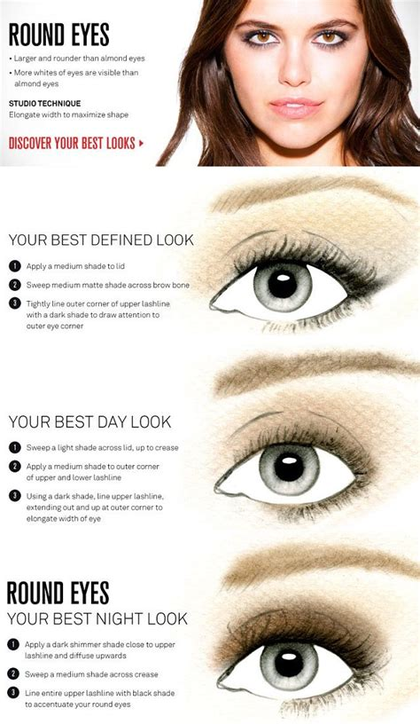 eyeshadow tutorial for round eyes makeup for round eyes big mugeek vidalondon