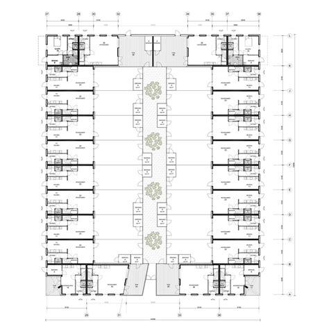housing court 187 court housing in groningen by architecten en en