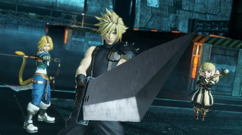 Dissidia Ps4 dissidia nt ps4 characters and