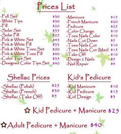jcpenney hair salon price list 25 best nail salon prices ideas on pinterest price list