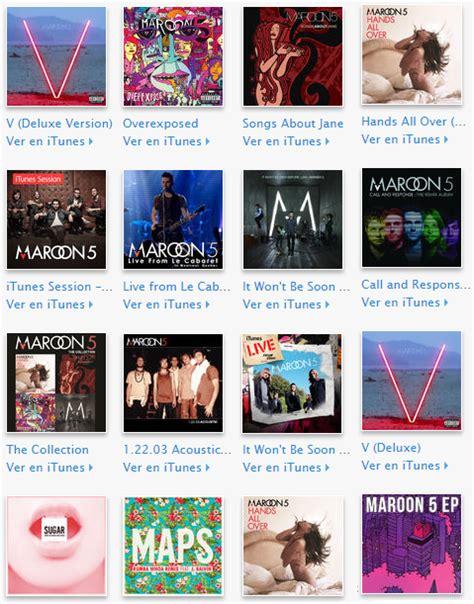 download mp3 full album maroon 5 maroon 5 discograf 237 a discography 2015 mega 12 cds