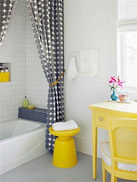 yellow bathroom decorating ideas get the look a yellow bathroom yellow bathroom