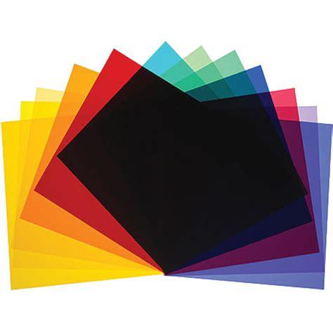 color filter broncolor color filter set for p70 b 33 307 00 b h photo