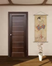 Lagoon interior door wenge finish modern home luxury
