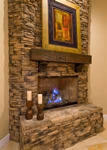 fireplace rock ideas stacked rock fireplace kitchen family room pinterest