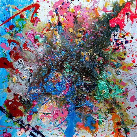 Lukisan Digital Abstrak 6 peintres
