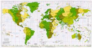time zone map and south america go universal green maps