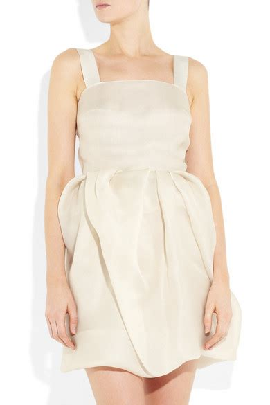 Lanvin Tiered Silk Gazar Dress by Lanvin Skirt Silk Gazar Dress Net A Porter