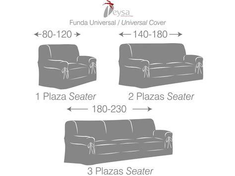 fundas universales para sofas funda de sofa universal bianca de eysa barata