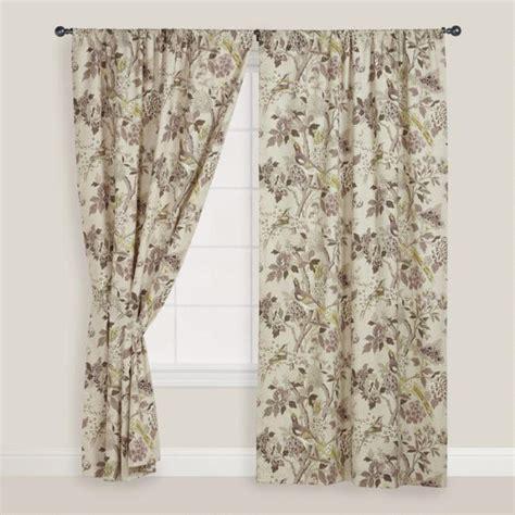 bird curtains bird print whippoorwill curtain world market