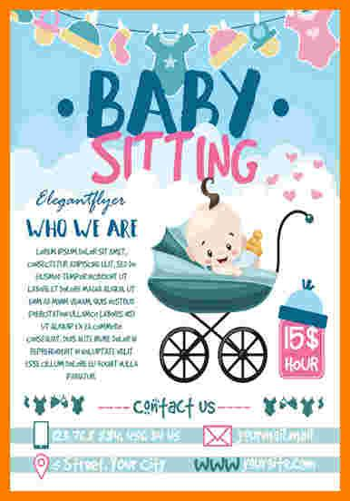 8 Babysitting Flyer Template Ledger Review Babysitting Flyer Template Pdf
