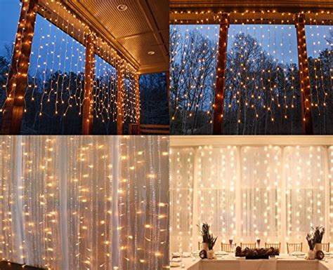 icicle fairy lights indoor string lights window curtain 300 led icicle fairy twinkle
