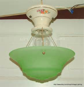 3 Chain Light Fixture Antique Vintage Lighting 3 Chain Hanging Ceiling Light