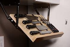 diy cabinet drop knife storage plans free