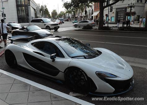 mclaren p1 spotted in beverly california on 07 31 2015