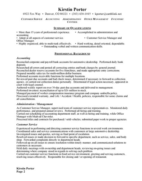 resume format for admin manager new administrative example