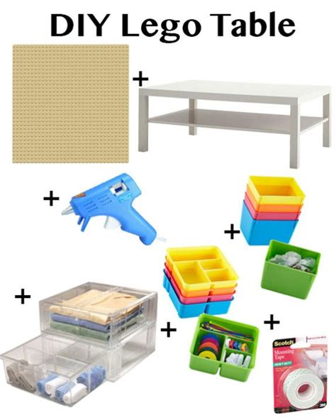 lego table diy ikea best 25 diy lego table ideas on lego table