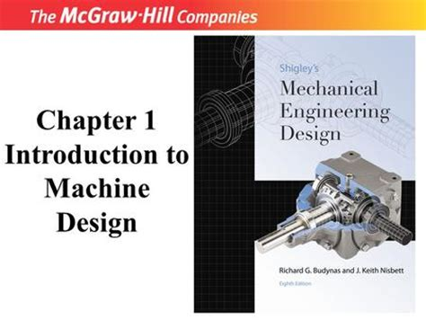 mcgraw hill design of machinery introduction about machine design i ppt video online