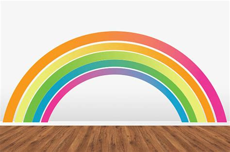 rainbow wall stickers rainbow room decor ideas