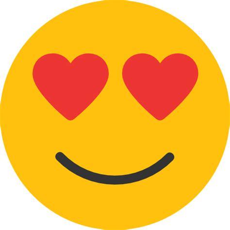 imagenes del emoji enamorado in love free smileys icons