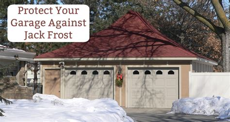 protect your home with garage door winter care