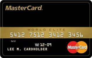 mastercard world elite review