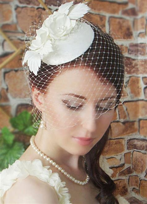 Vintage Wedding Hair Fascinators by Fascinator Bridal Fascinator Wedding Hat Wedding