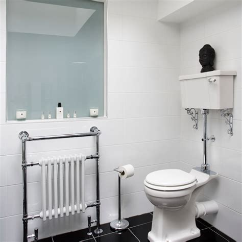 black and white bathroom tiles in a small bathroom classic white bathroom with black floor tiles bathroom