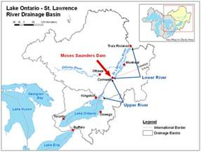 the lake ontario st river system