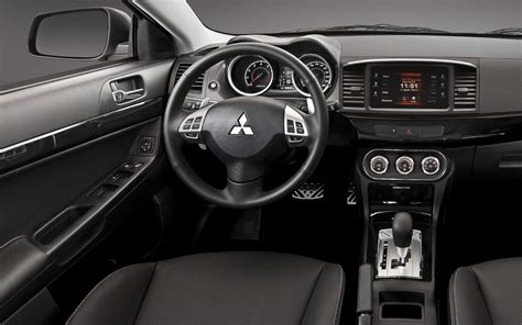mitsubishi evolution 2016 interior novo mitsubishi lancer 2016 v 237 deo pre 231 os e consumo car