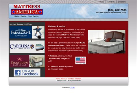 mattress richmond va mattress stores in richmond va mattress stores in