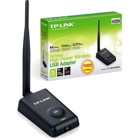 Usb Wifi Adapter Tp Link Tl Wn7200nd Gitec Shop Tp Link Tl Wn7200nd 150mbps High Power