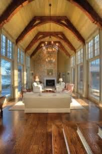 Atrium Ceiling Design by Atrium Like Room The Wood Rafters Home Decor