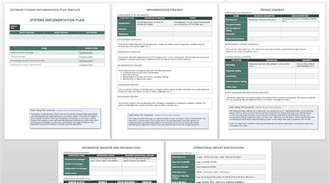 How To Create An Implementation Plan Smartsheet Implementation Plan Template