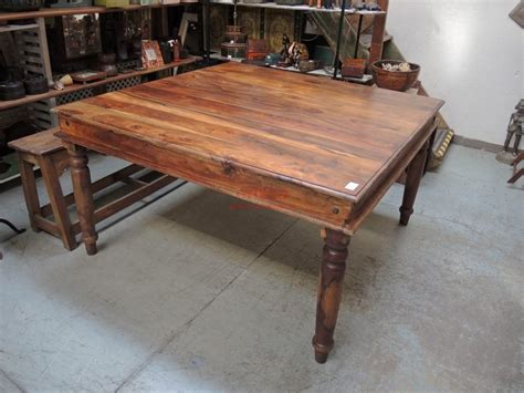 tavolo legno quadrato tavolo quadrato in legno massello legno di sheesaam