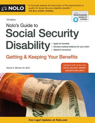 how to keep your social security disability benefits tips tools strategies for success volume 1 books 9781413319675 nolo s guide to social security disability