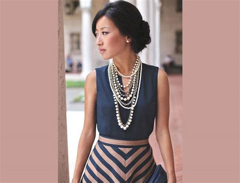 Hs Chocker Black Top 1 5 easy ways to style your statement necklace it s time