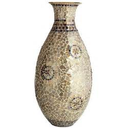 mosaic vase chagne gold pier 1 imports