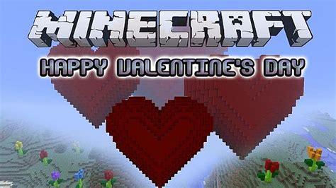 valentines day minecraft happy s day minecraft project