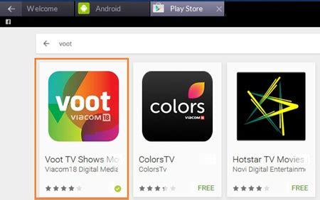 free download voot android app, apk install, pc