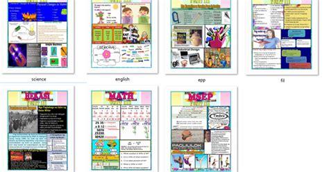 lesson plan template qut hot high quality bulletin for grade 5 3rd quarter