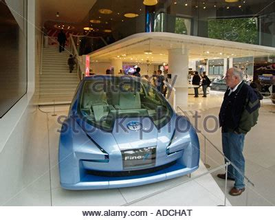 Toyota Hybrid X Concept Hits The Showroom by New Car Showroom Toyota Car Detail Gas