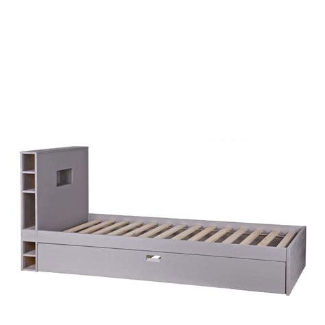 cadre de lit avec tiroir en bois 90 x 200 sam drawer fr