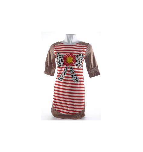Tshirt Kaos 4 t shirt kaos cewek lengan 3 4 queentin 016008654