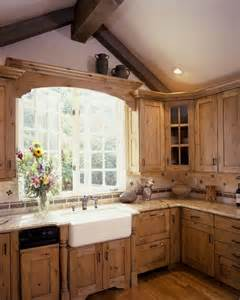 Country Kitchen Cabinets Rustic And Country Kitchens Traditional Kitchen