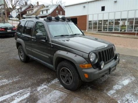 2006 Jeep Liberty Specs 2006 Jeep Liberty Renegade 4x4 Data Info And Specs